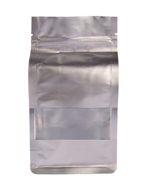 Flat Bottom Zip lock Stand up Bags with Window