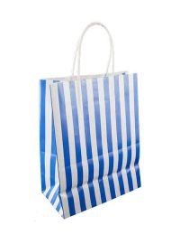 Paper shopping bags ribbon printing