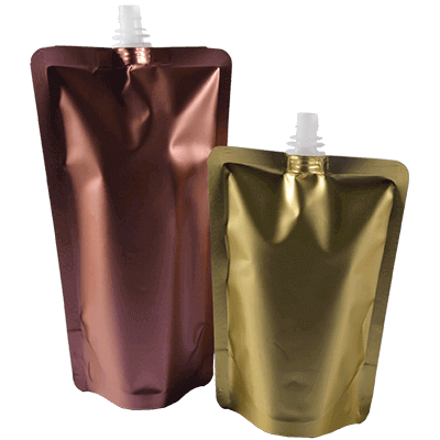 Metallic Stand up Spouted Pouch