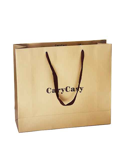Strip paper hand bags shopping bags for cloth food