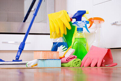 Housekeeping supplies cleaning