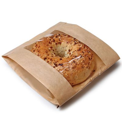 Bakery kraft paper bread bag
