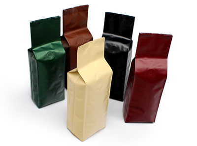 Poly Side gusset bags