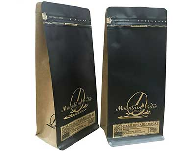 Black coffee pouch