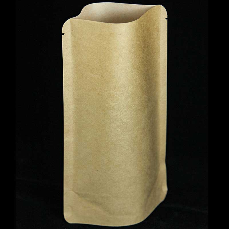 Compostable pouch coffee bags