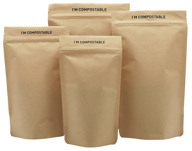 Compostable stand up pouches supplier